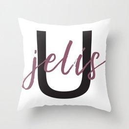 You Jelis Throw Pillow
