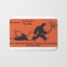 Banksters Go to Jail Bath Mat