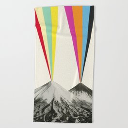 Volcanos Beach Towel