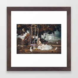 I Think It's Going To Rain Today Framed Art Print