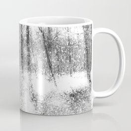 Forest Of Ghosts And Snow Coffee Mug