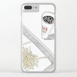 The Habit Burger in Santa Barbara Clear iPhone Case