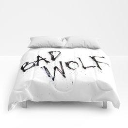 Doctor Who bad wolf Comforters