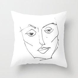 her #4 Throw Pillow