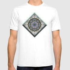 Wild Blueberries White Mens Fitted Tee SMALL