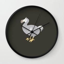 EXTINCT: Dodo Wall Clock