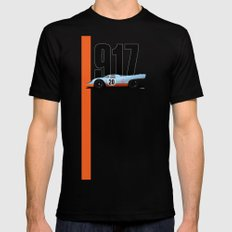 917-022 LARGE Mens Fitted Tee Black