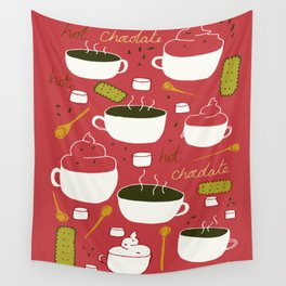 Hot Chocolate Wall Tapestry