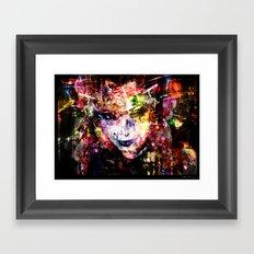 Cyber Jazzy Framed Art Print