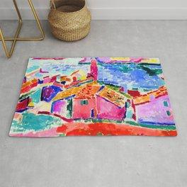 Henri Matisse Les toits de Collioure Rug