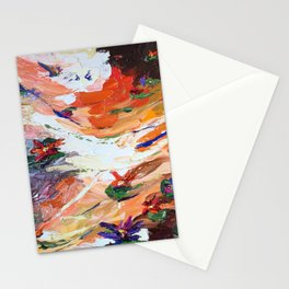 Sunset Lillies Stationery Cards