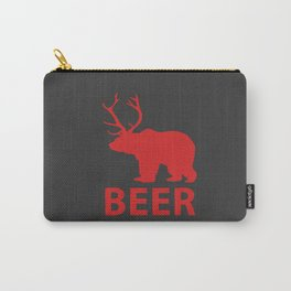 DEER & BEAR = BEER Carry-All Pouch