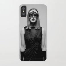 Metamorphosing Monochromes iPhone X Slim Case