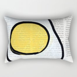 Teenage Dream Fried Egg Rectangular Pillow