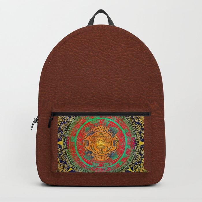 Aztec Sun God Backpack