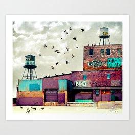 Factory #1 Art Print