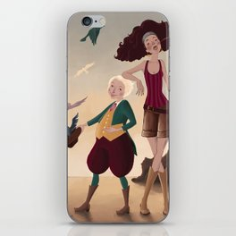 Aren and Than iPhone Skin