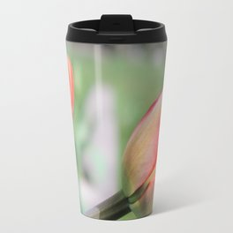 Young buds of red flowers. Travel Mug