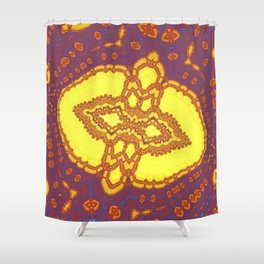 Fractal Abstract 47 Shower Curtain