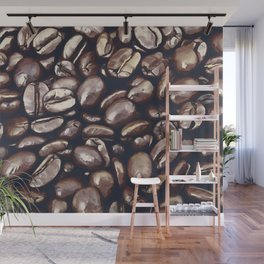 roasted coffee beans texture acrfn Wall Mural