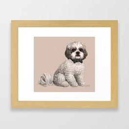 Merry is Smarter Than You Framed Art Print