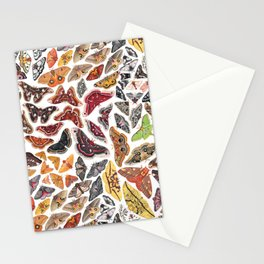 Saturniid Moths of North America Pattern Stationery Cards