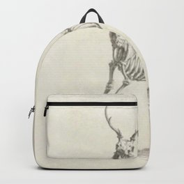 Deer Skeleton Backpack