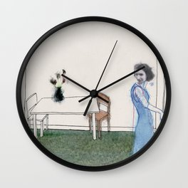 The Monster Series (4/8) Wall Clock