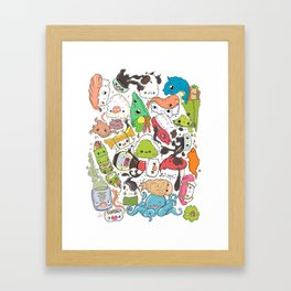Sushi Bar: Point of Nori-turn Framed Art Print