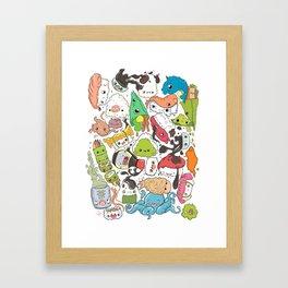 Sushi Bar: Point of Nori-turn Framed Art Print