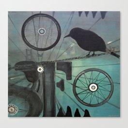 Commute Canvas Print