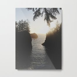 Secret Beach Metal Print