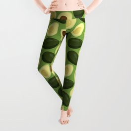 avocado party Leggings