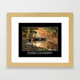 Inspirational Discovery Framed Art Print