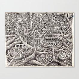 Pipescape, by Brian Benson Canvas Print