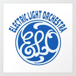 ELO - ELECTRIC LIGHT ORCHESTRA Art Print