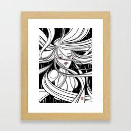 Windy Welly Girl 4 Framed Art Print