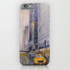 Hey Taxi - New York City Midtown Rain  Watercolors Slim Case iPhone 6s