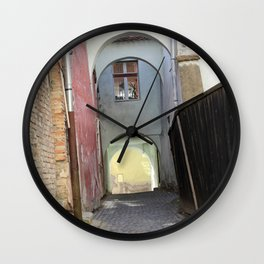 Sighisoara VI Wall Clock