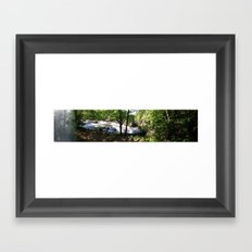 falls2 Framed Art Print