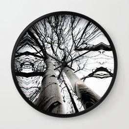 Aspen Ink Blot Wall Clock