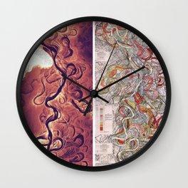 Mississippi Delta Lidar/Fisk Comparison Wall Clock