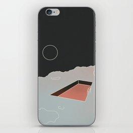 Moon Pool iPhone Skin