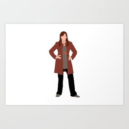 Donna Noble: The Woman Who Forgot Art Print