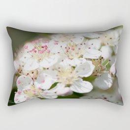 Aronia Blossoms Rectangular Pillow