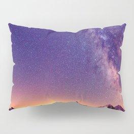 Sunset Mountain #stars Pillow Sham