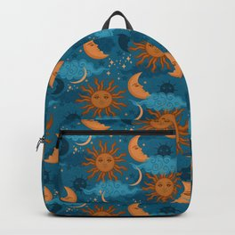The Sun, The Moon and The Stars Backpack