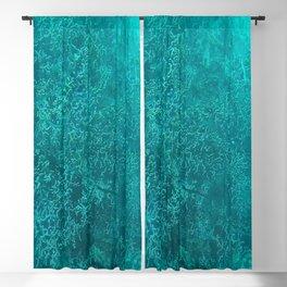 blue coral Blackout Curtain