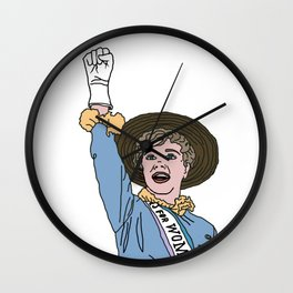 Sister Suffragette! Wall Clock