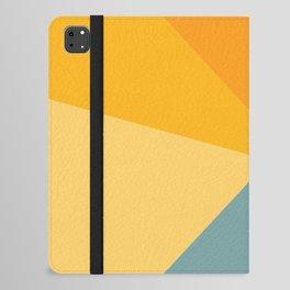 Abstract Mountain Sunrise iPad Folio Case